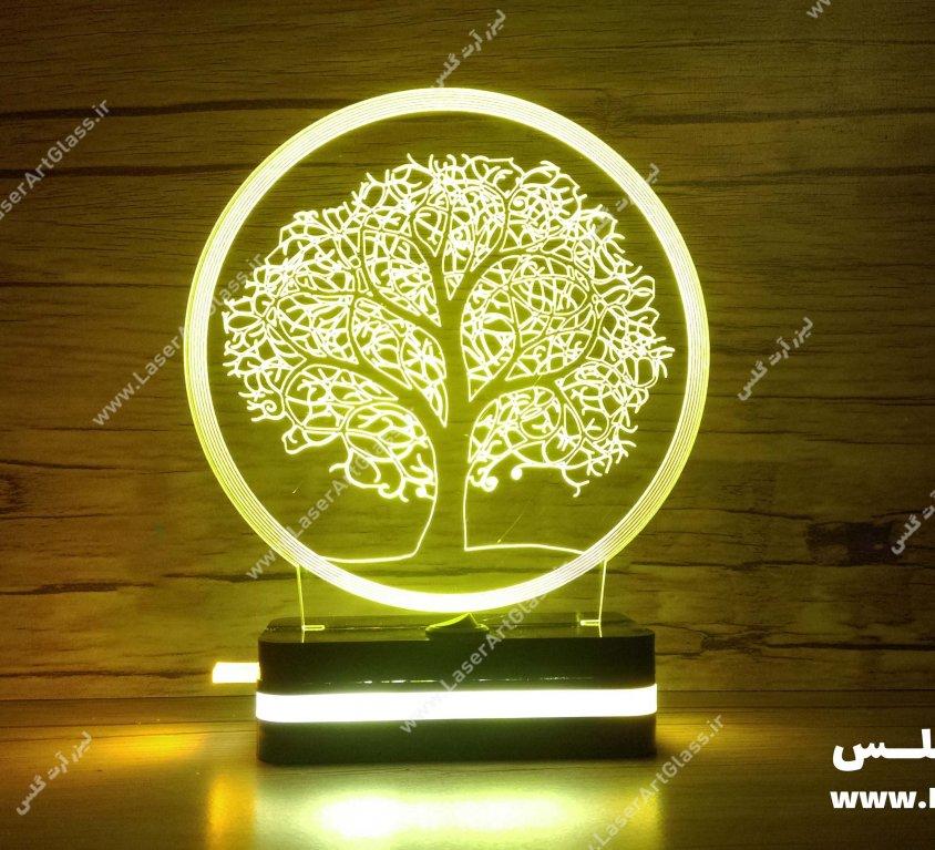 بالبینگ سه بعدی طرح درخت