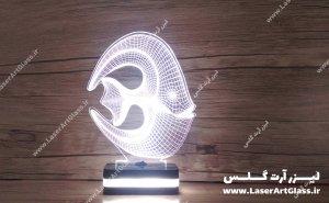 بالبینگ سه بعدی طرح ماهی آنجل