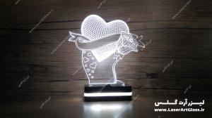 بالبینگ سه بعدی طرح قلب